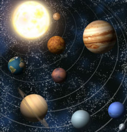 Planets and perpetual motion